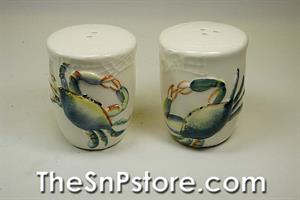 Blue Crab Salt  & Pepper Shakers