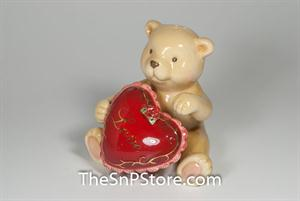 Magnetic Teddy Bear with Love Salt & Pepper - Magnetic