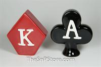 Poker Symbol Salt & Pepper