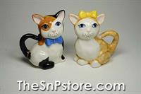 Cats in the Cupboard Salt & Pepper Shakers