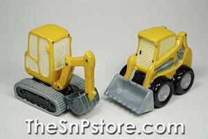 Construction Machines Salt & Pepper Shakers