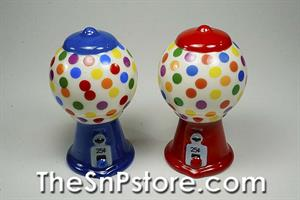 Gumball Machine Salt & Pepper Shakers