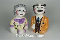 Sadie & Charlie Schwaartz Salt and Pepper Shakers