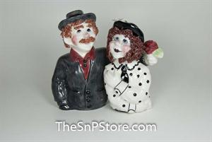 Aunt Lilly & Uncle Abe Salt and Pepper Shakers