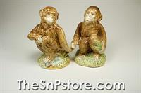 Monkeys Salt & Pepper Shakers