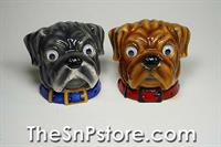 Bull Dogs Salt & Pepper Shakers