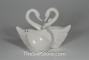 Swan Couple Salt & Pepper