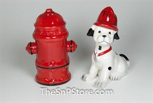 Fire Fighter Salt & Pepper