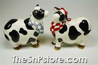 Cows  Salt & Pepper Shakers