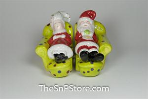 Chilling Out - magnetic Salt & Pepper Shakers - Magnetic