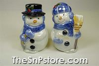 Snowmen Salt & Pepper Shakers