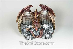 Dragon/Skull Salt & Pepper Shakers