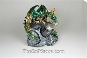 Green Dragon Salt & Pepper Shakers