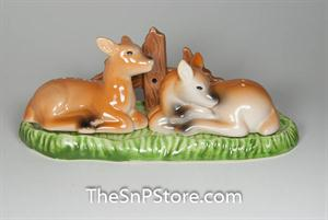 Deer 3pc Salt & Pepper Shakers