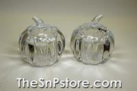 Pumpkin Crystal Salt & Pepper Shakers