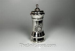 Baroque Pepper Mill - Silverplated