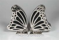 Butterfly - Nickel-Plated Salt & Pepper Shakers