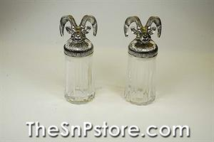 Rams Head Salt & Pepper Shakers