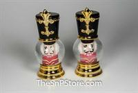 Nutcracker Goldstone Salt & Pepper Shakers
