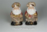 Santa Chef Salt & Pepper Shakers