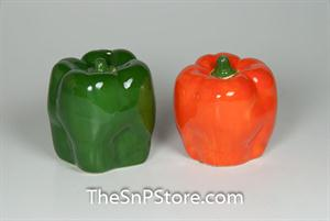 Bell Peppers Salt & Pepper Shakers