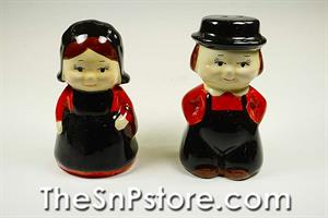 Girl & Boy Salt & Pepper Set