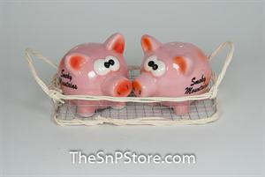 Pigs in Basket Salt & Pepper Shakers