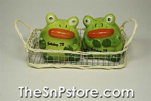 Frog - Gatlinburg Salt & Pepper Shakers