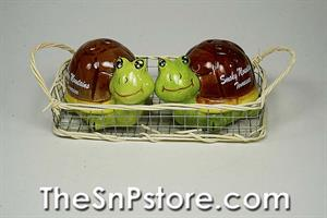 Turtle - Smoky Mountains Salt & Pepper Shakers