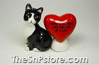 Cat Lovers Salt & Pepper Shakers