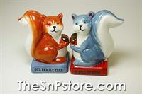 Squirrel Nuts Salt & Pepper Shakers