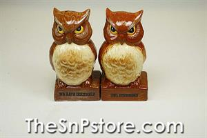 Owls  Salt & Pepper Shakers