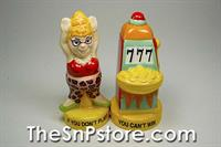 Slot Winner Salt & Pepper Shakers