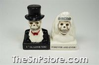 Day of the Dead Skulls - Forever Salt & Pepper Shakers