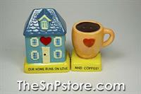 Home Coffee Salt & Pepper Shakers