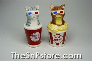 3D Kitty Cats  Salt  & Pepper Shakers