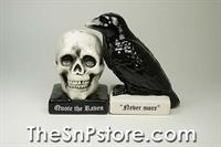 Quote the Raven Salt & Pepper Shakers
