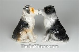 Aussie Shepherd Salt & Pepper Shakers
