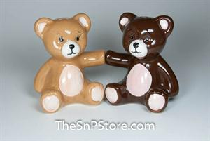 Teddy Bears Salt and Pepper Shakers - Magnetic