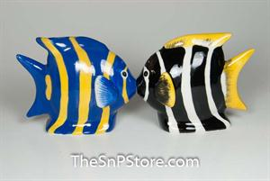 Angel Fish Salt & Pepper Shakers - Magnetic