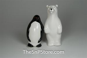Polar Opposites Salt & Pepper Shakers