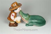 Croc Salt & Pepper Shakers