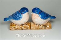 Blue Birds Salt & Pepper Shakers