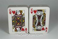 Poker Cards Salt & Pepper Shakers - Magnetic