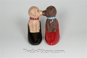 Puppies in Pumps Salt & Pepper Shakers - Magnetic