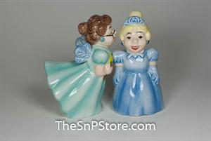Fairy Godmother Salt & Pepper Shakers - Magnetic