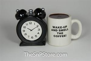 Alarm Clock Salt & Pepper Shakers