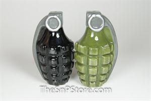 Hand Grenades Salt & Pepper Shakers - Magnetic