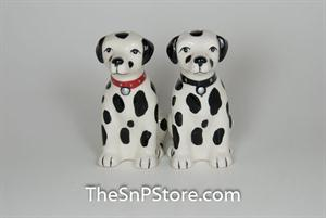Dalmatian Puppies Salt & Pepper Shakers - Magnetic