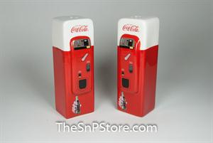 Coke Vending Machine Salt & Pepper Shakers